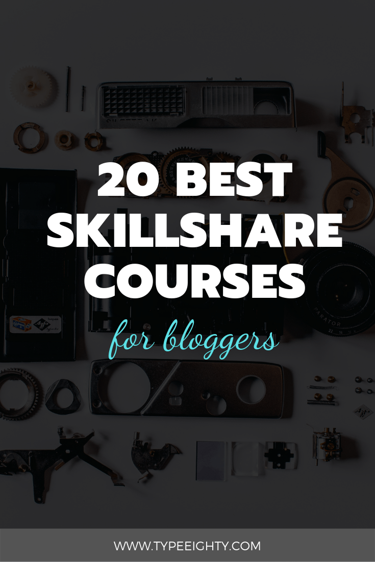Skillshare is an online learning platform for Creative Professional with more than 17,000 classes available. They offer a wide variety of topics from business, health, technology to creative. They excel in creative classes such as photography, design, and crafts. In this post, I've rounded up 20 best Skillshare courses to be a better blogger.