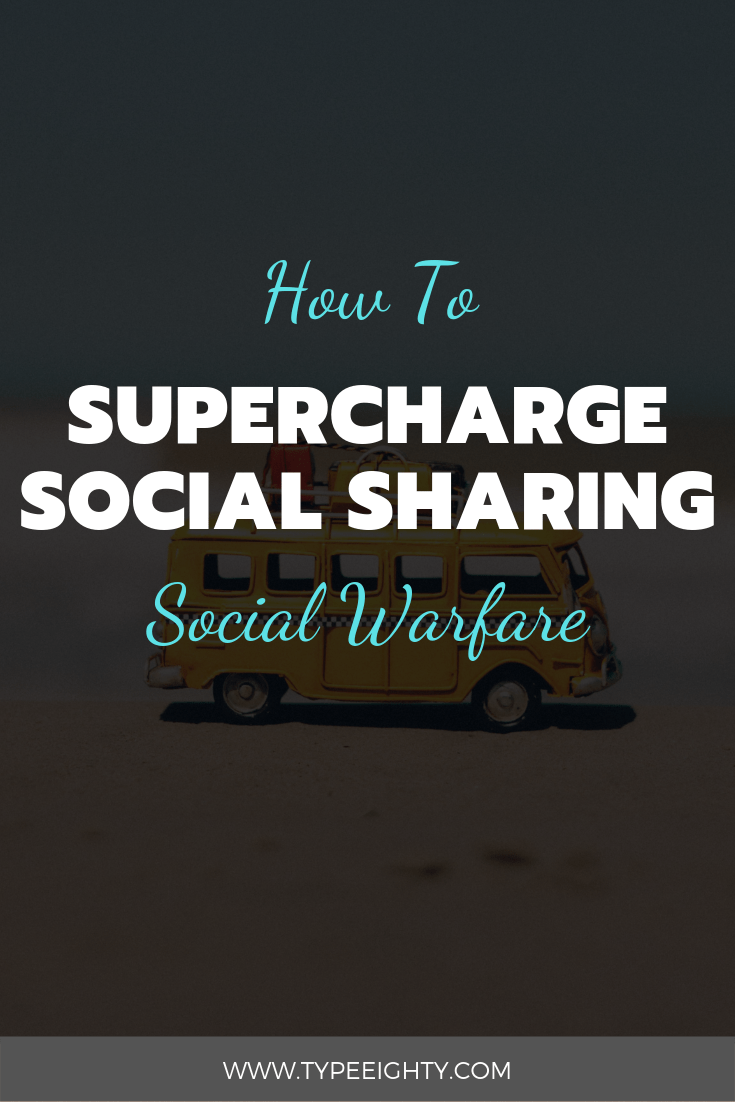 It\'s time for me to explain why after using so many different WordPress plugins, Social Warfare is the only social sharing plugin I now recommend for bloggers!