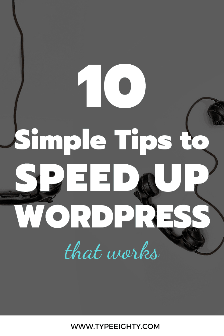 Slow website could have negative effect on your ranking. I guarantee that using even a few will help speed up your site. Check out these 10 tips you could implement right now.