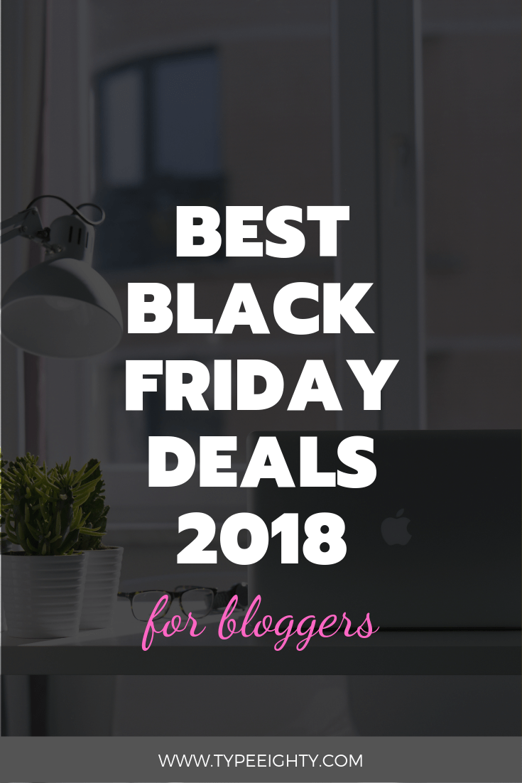 A list of best Black Friday and Cyber Monday 2018 deals for bloggers and entrepreneurs to run their WordPress websites.