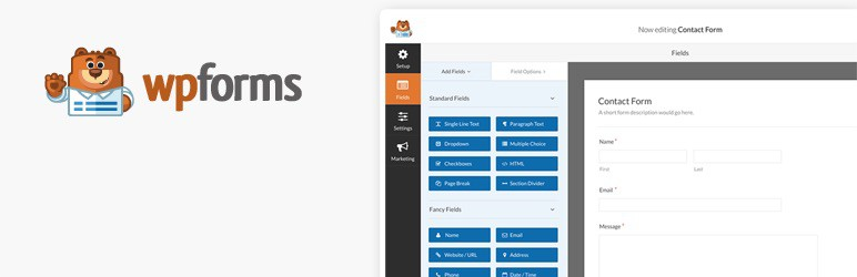 WP Forms - Best Form Builder for WordPress