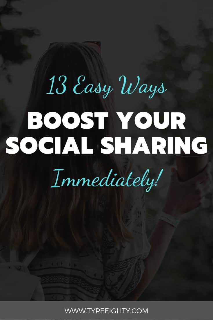 If you're looking to increase your social media sharing, you're gonna love this post.What if I told you there's another free untapped source for your traffic — social traffic. And how you could increase social traffic through social media sharing.In this post, you're going to learn 13 tips to increase your social media sharing.