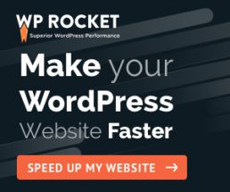 WP Rocket - speed up wordpress