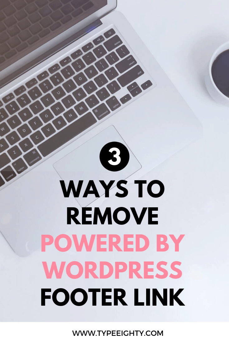 Looking for ways to remove Powered by WordPress footer link on your website? In this article, we\'ll go over 3 different ways to do so which one are the recommended ways and which one you should avoid if possible.
