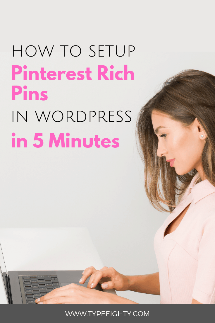 Learn how to enable rich pins on Pinterest and boost your blog traffic. Find out why rich pins are so important and why you have to use them right away.