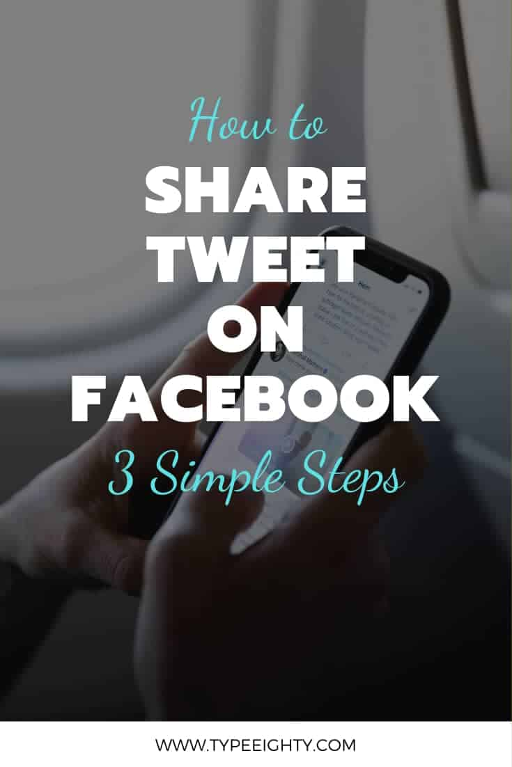 How To Share A Tweet On Facebook In 3 Simple Steps